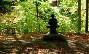Chapin Mill Buddha Silhouette